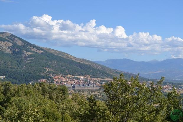 San Lorenzo del Escorial desde la Machota Alta