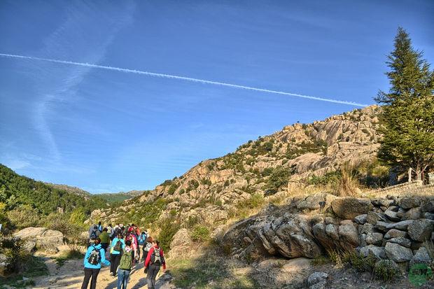 La Pedriza, camino charca verde