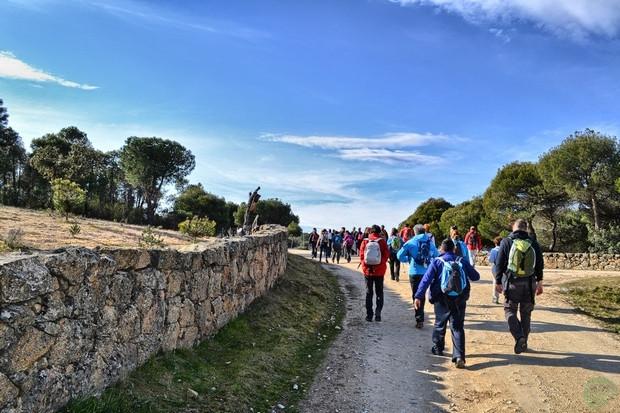 Torrelodones hacia Canal del Guadarrama