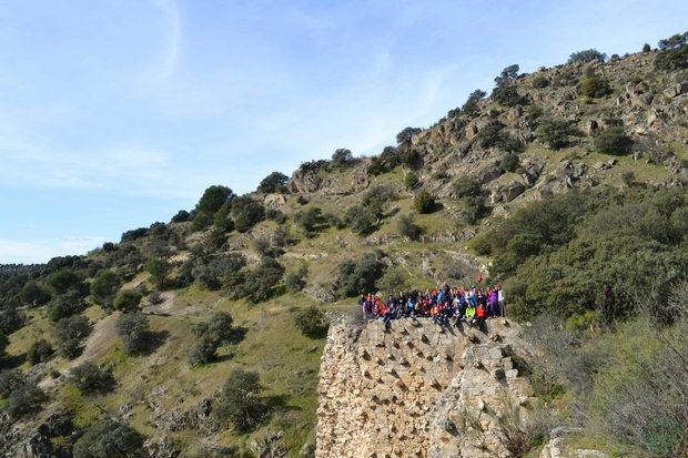 Presa de El Gasco Grupo senderismo