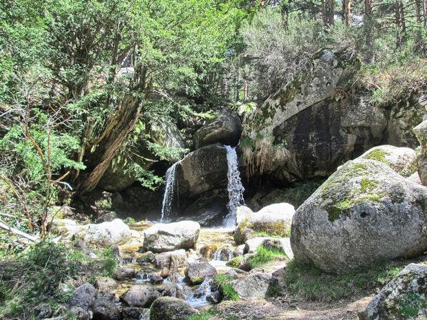 Cascada Siete Picos