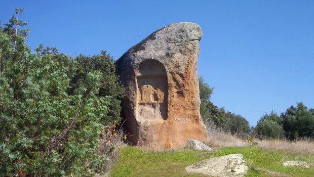 Piedra Escrita en Cenicientos