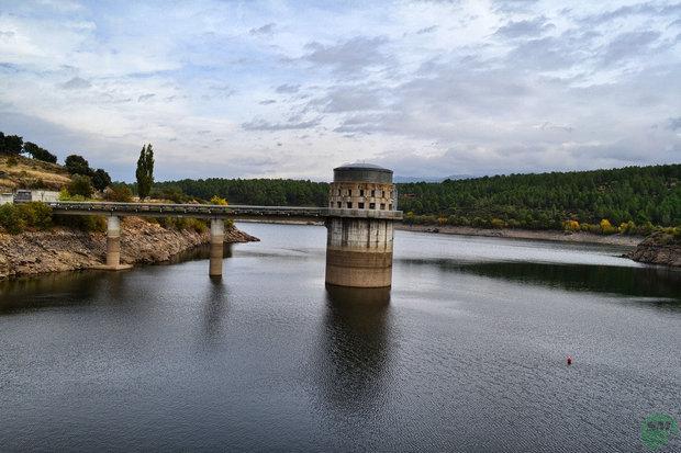 Embalse del Villar río Lozoya