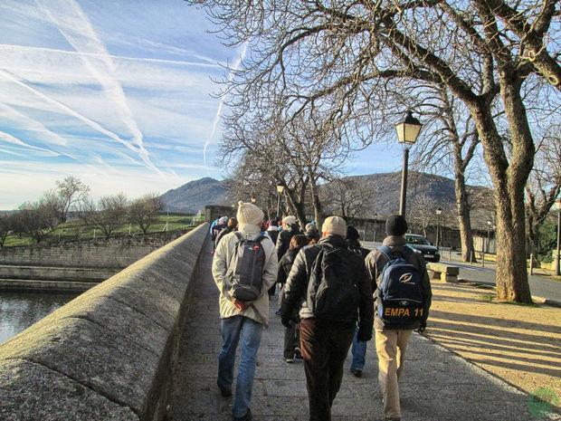 Camino Monasterio del Escorial
