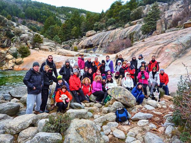 Grupo senderismo Charca Verde